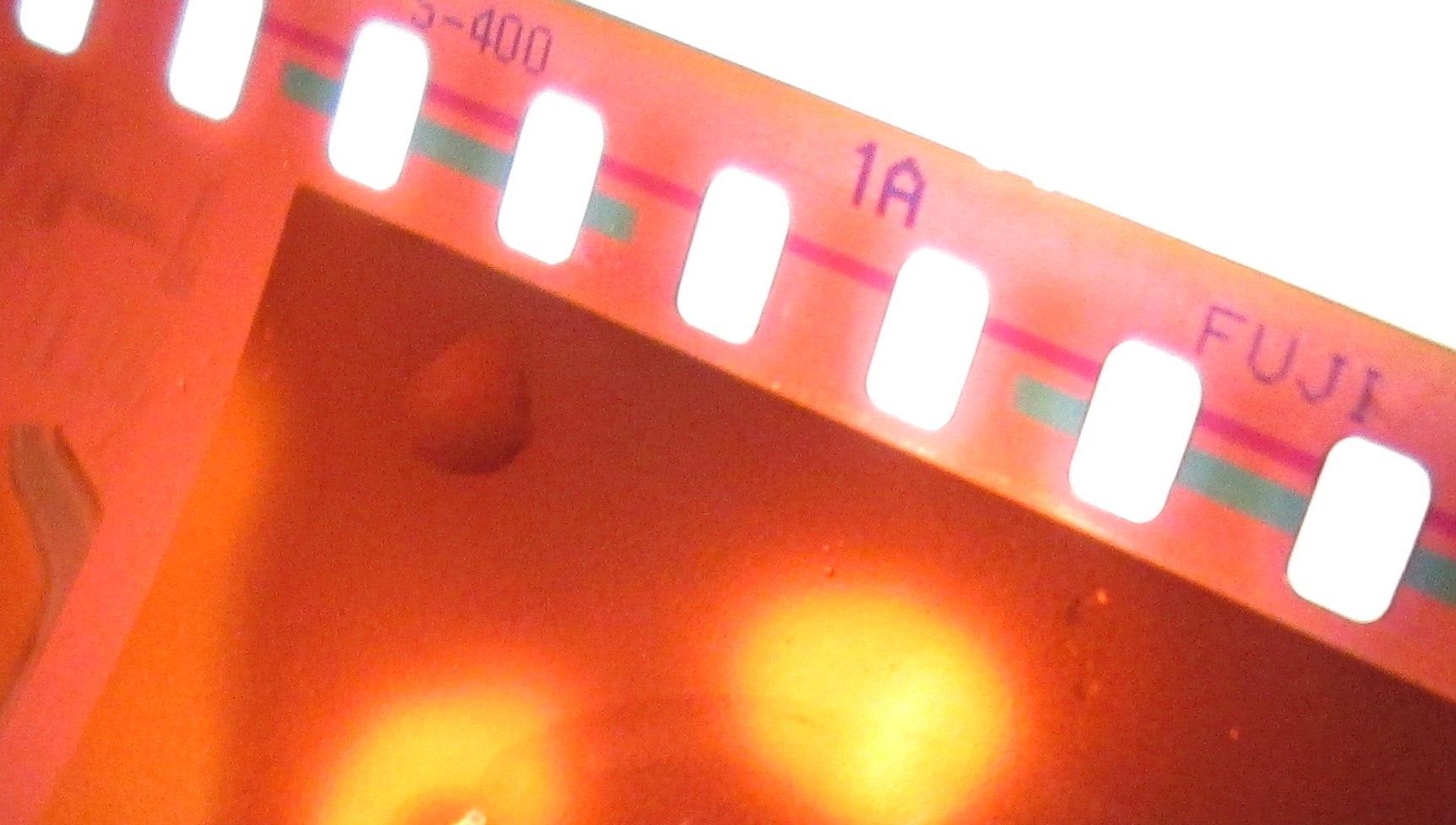 FujiFilm ISO 400 C-41 film negative