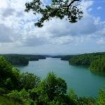 Philpott Dam Lake scenic overlook